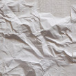Paper texture. White paper sheet. — Stock Photo