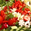 Foto de Stock  : Fresh salad