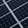 Photovoltaic cells of solar panel — Stock Photo