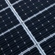 Photovoltaic cells of solar panel - Stock Photo