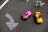 Toys cars — Stock Photo