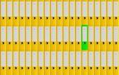 Office folders — Stock Photo