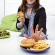 No more fast food — Stock Photo