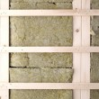 Wall insulation — Stock Photo