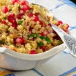 Stock Photo: Bulgur And Pomegranate Salad