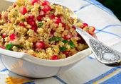 Bulgur And Pomegranate Salad — Stock Photo