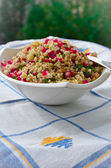 Bulgur And Pomegranate Salad — Stock Photo