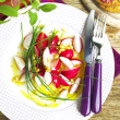 Spring Radishes Salad — Stock Photo