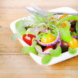 Fresh vegetables salad — Stock Photo