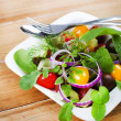 Fresh vegetables salad — Stock Photo #25311101
