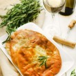 Stock Photo: Khachapuri: Georgibread dish filled with cheese