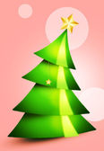 Christmas tree 2013 — Stock Photo