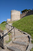 Road to the castle — Stock Photo