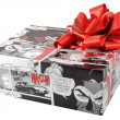 Gift box with Red Ribbon — Stock Photo #14950503