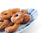 Homemade doughnuts — Stock Photo