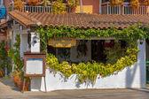 Griekse taverne — Stockfoto
