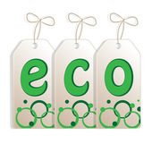 Banner on the theme of ecology — Stock Vector