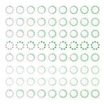 Preloading .preloader progress web downloading circle.vector — Stock Vector #33098351