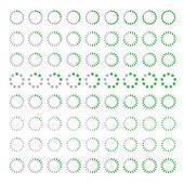 Préchargement de web de progrès .preloader téléchargement circle.vector — Vecteur