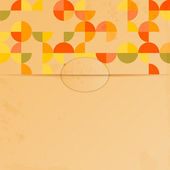 Abstract background with a pattern of circles.blank sheet of pap — Vecteur