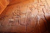 Gods and pharaon — Stock Photo