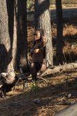 Nude woman, — Stock Photo