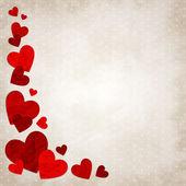 Love hearts — Stock Vector