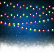 Christmas light — Stock Vector