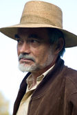 Man in hat — Stock Photo