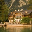 Stock Photo: Lake house