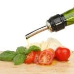 ������, ������: Tomato basil mazzarella oil