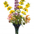 Wild flower arrangement — Stock Photo