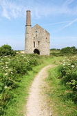 Cornish tin mine — Stock Photo
