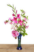 Pink flower arrangement — Stock Photo