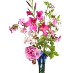 Pink flower arrangement — Stock Photo #14138836