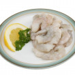 Raw prawns - Stock Photo
