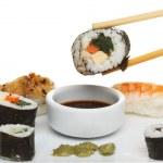 Sushi closeup — Stock Photo