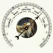 Barometer fair — Stock Photo