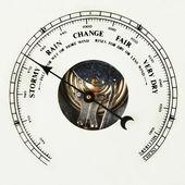 Barometer dial — Stock Photo