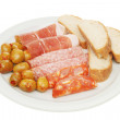 Stock Photo: Cold meats