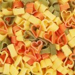 Stock Photo: Heart shaped pasta