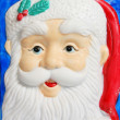 Model Santa face — Stock Photo