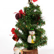 Small Christmas tree — Stock Photo #17359159