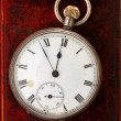 Antique watch on leather — Stock Photo #17359249