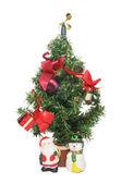 árbol de navidad en miniatura — Foto de Stock