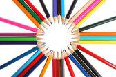 Grupo de lápis de cor — Fotografia Stock