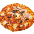 Stock Photo: Cooked pizza