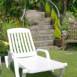 Stock Photo: Sunlounger