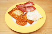 Cooked breakfast — Stock Photo