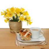 Easter tea — Stock Photo